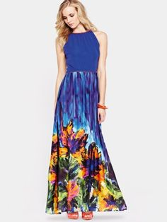 South petite crinkle maxi dress