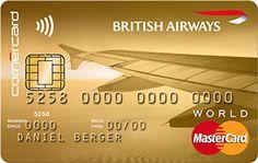 British Airways   MasterCard World Gold   Cornercard