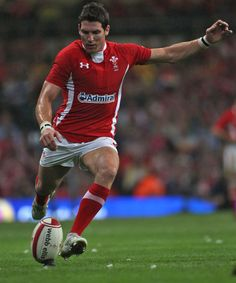 Wales - James Hook Welsh Rugby Team, Welsh Football, Football Team, Rugby League, Rugby Players, Liam Messam, Rugby Images, James Hook, Dragon Wagon