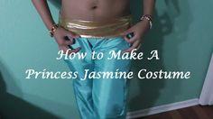 How to Make a Princess Jasmine Costume