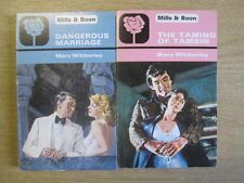 2 x Mary Wibberley Romance Mills & Boon : 1. Dangerous Marriage.  2. The Taming