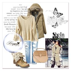 """""""Sweater"""" by woman-1979 ❤ liked on Polyvore featuring Genetic Denim, Steve Madden, Lipsy and Accessorize"""