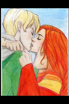 I so ship them, and the Quidditch part makes it that much better! xo Marie