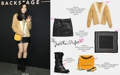 f(x) Victoria Song at Coach Backstage Event in Hong Kong