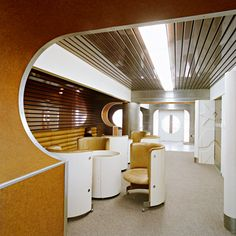 Slovak Architecture of the and Airport Lounge, Eat Your Heart Out, Unique Architecture, Bratislava, Dieselpunk, Eastern Europe, 1960s, Iron, Interiors