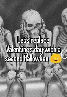 #Halloween #valentines #fearticket