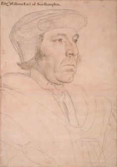 William Fitzwilliam, Earl of Southampton (c.1490-1542) ~ Hans Holbein the Younger