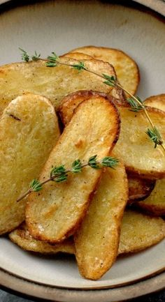 Salt and Vinegar Broiled Fingerling Potatoes