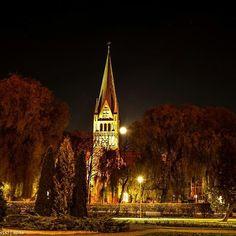Super Księżyc nad #Szczecinek. Bliżej nie doleci :) Foto: Krzysztof Olszewski