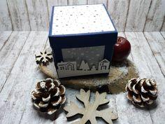 Explosionsbox für einen Snowball