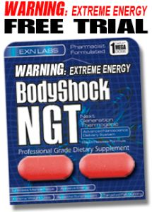 2 caplet sample of NGT BodyShock