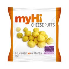myHi High Protein Cheese Puffs