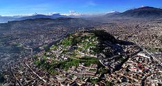 Quito, Ecuador ---- I once did some sort of report on Ecuador when I was in elementary school. I would love to visit there to see it now that I'm an adult. :-)
