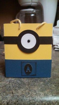 Minion gift bags