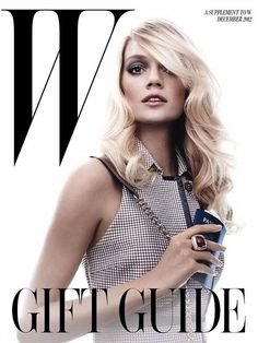 Lindsay Ellingson - W Magazine - W Magazine December 2012 Gift Guide Supplement Cover by Chris Ferretti