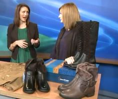 Q13 Fox SEATTLE --Style experts, Tiffany Lowry and Darcy Camden explain how to look decent after walking through a downpour from our car. Watch the video clip here - http://q13fox.com/2014/11/06/how-to-stay-stylish-in-all-this-rain/