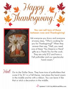 Thanksgiving Ideas - Great thank you gift for the person hosting Thanksgiving dinner.  And a fun way to give back this month.