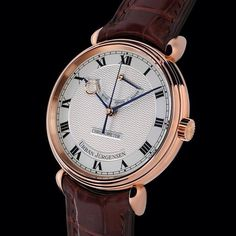 The jury of the most relevant annual watch award ceremony, the Grand Prix de Horlogerie de Geneve, has chosen Urban Jurgensen & Sonner Central Second Grand Prix, Best Watches For Men, Cool Watches, Executive Fashion, Dream Watches, Automatic Watch, Gold Watch, Rose Gold, Urban