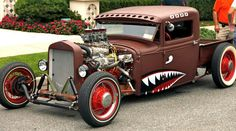 Rat Rod Warhawk.