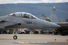 RED FLAG-ALASKA Mitsubishu F-15J Eagle s/n 92-8094 203rd Tactical Fighter Squadron (JASDF) Chitose AB, Japan