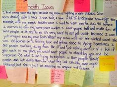 Everyone should read this girl's school assignment about rare disease