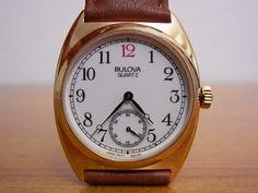 BULOVA腕時計アンティーク風スモセコ92A73YMike Watch blova ¥7500yen 〆05月15日