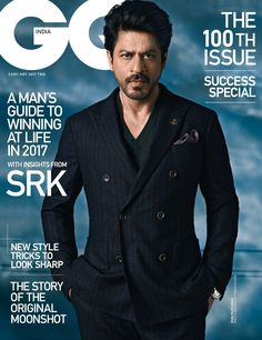 """Bollywood fashion 766878642786336364 - Shah Rukh Khan started off 2017 all chic in this photoshoot for GQ India. Shah Rukh Khan Opens 2017 Looking Like Goddamn Human Perfection In A """"GQ India"""" Photoshoot Source by Shahrukh Khan, Shah Rukh Khan Movies, Bollywood Stars, Bollywood Fashion, Bollywood News, Saiyami Kher, Tommy Hilfiger, Celebrity Magazines, Celebrity Photos"""