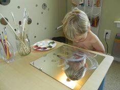 Let kids paint their faces.
