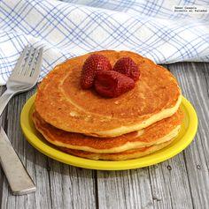Receta para preparar hot cakes de kéfir. Con fotos del paso a paso y consejos de degustación