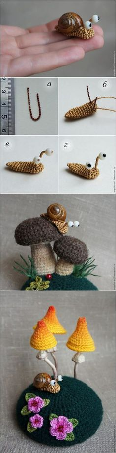 Crochet Amigurumi Snail Patterns - Page 2 of 2 -