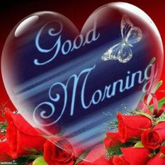 Good Morning Heart And Butterfly