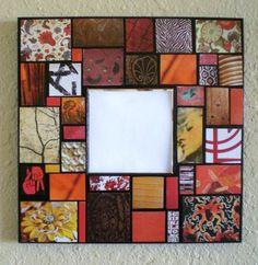 Mosaic Mirror Wall Hanging by JanetsMosaics on Etsy, $25.00