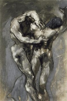 drakontomalloi:  Auguste Rodin -The Heretics. N.d.,1880s