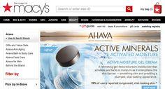 Macys carries Ahava