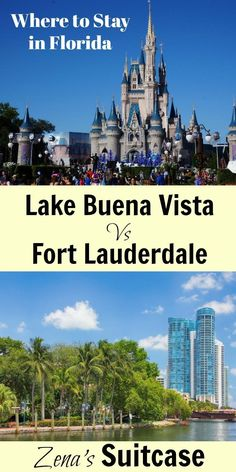 Where to Stay in Florida. Lake Buena Vista, Fort Lauderdale. Staying near beaches Florida. Staying near theme parks Florida. Travel in North America.
