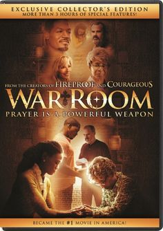 """War Room"" is a terrific movie, gripping and inspiring! It has that dynamic mix of good acting, an interesting storyline, and humor tossed in at the right moments."" - From the Dove review"