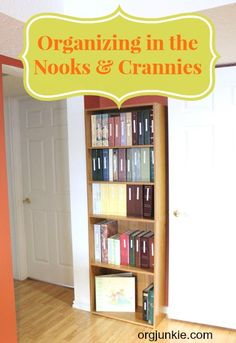 Organizing in the nooks and crannies at I'm an Organizing Junkie