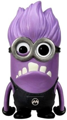 Straight out of the Despicable Me 2 film! This Despicable Me 2 Purple Minion Pop! Vinyl Figure features the evil purple minion threat Pop Minion, Minion Baby, Yellow Minion, Purple Minions, Minion Birthday, Minion Theme, Evil Minion Costume, Purple Minion Costume, Minion Costumes