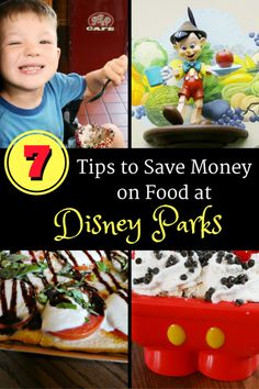 Top Tips on Saving Money on Food at Disney Parks