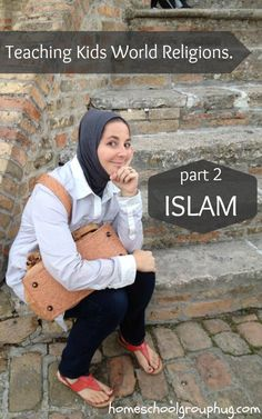 Teaching Kids About Islam Teaching children about all world religions is maybe the key to understanding the world. Amanda of Maroc Mama shares some tips with us on learning about Islam, her adopted religion. Thank you Amanda. Religious Studies, Religious Education, Teaching Kids, Kids Learning, Teaching Resources, Learn Islam, Learn About Islam, World History Teaching, 6th Grade Social Studies