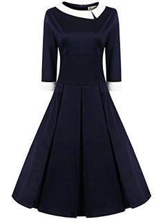 Women's 50s Style Rockabilly Pinup Cotton Swing Vintage Dress (Premium), http://www.amazon.com/dp/B01A7DE424/ref=cm_sw_r_pi_awdm_53IyxbNKBNNPJ