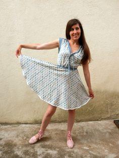 une robe réglisse de Deer&Doe. Plus de photos sur mon blog: http://lescreationsdecaroscrap.blogspot.fr/2014/05/mes-robes-dete.html