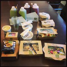 Appreciation lunch courtesy of our Loan Officer Bertha De La Torre!!! #thanksbertha #smoothtransitions #loanofficer #panerabread #spoilingthestaff #teamhomeloans #sandiego #fundit
