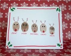 childrens christmas card ideas - Google Search                                                                                                                                                     More