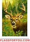 Deer Friend Garden Flag