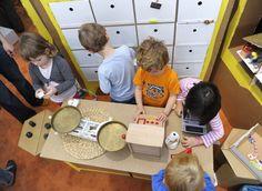 Die Kuh im Kühlschrank - so heißt die faszinierende Kinderausstellung rund um Energie und Umwelt.