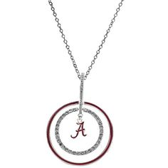 College Football Playoffs Bound! Alabama Crimson Tide Dazzle Hoop Necklace J and D Jewelry and More http://www.amazon.com/dp/B015ZYTSJ4/ref=cm_sw_r_pi_dp_HhCzwb0BCX7VR