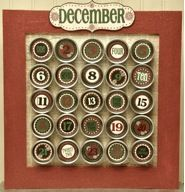 DIY Christmas Advent Calendars  These are some of the cutest ideas and so much fun.