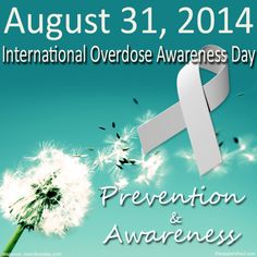 This day comes with an imperative message to all those abusing drugs about reaching out to get help before it's too late. #overdose #prevention #drugabuse #addict #alcoholism #drugs #awareness #august #death #tragedy #hope #motivation #event #blog