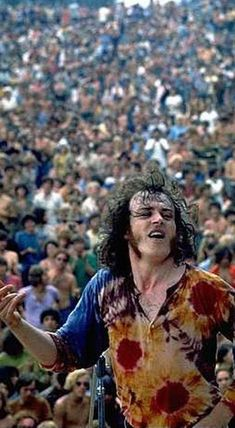 Joe Cocker at Woodstock, 1969.  What would you do if I sang out of tune?